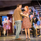 Owen McDonnell and Rosalie Craig in the current cast of The Ferryman - Credit: Johan Persson