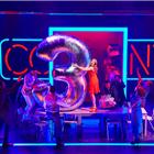Rosalie Craig, and company, Company, Gielgud Theatre, Image Brinkhoff Mogenburg