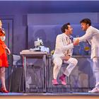 Rosalie Craig, Alex Gaumond, Jonny Bailey, Company, Gielgud Theatre, Image Brinkhoff Mogenburg