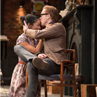 Sophie Okonedo (Stevie) and Damian Lewis (Martin) in Edward Albee's The Goat, Or Who Is Sylvia. Photo by Johan Persson