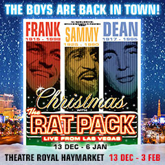 Book Christmas With The Rat Pack Tickets