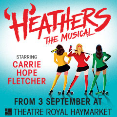 Read More - Heathers The Musical transfers to the West End