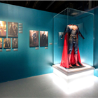 Superman at DC Exhibition: Dawn of Super Heroes.