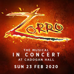 Book Zorro: The Musical in Concert Tickets