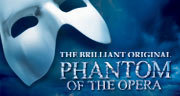 Book The Phantom of the Opera + 2 Course Dinner Tickets