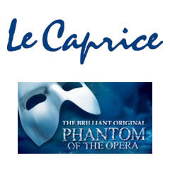 Book The Phantom Of The Opera + 2 Course Pre-Theatre Dinner at Le Caprice Tickets