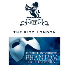 Book The Phantom Of The Opera + 3 Course Lunch & Glass of Champagne at The Ritz Tickets