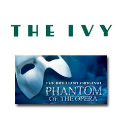 Book The Phantom Of The Opera + 2 Course Post-Theatre Dinner at The Ivy Tickets
