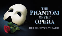Phantom Of The Opera tickets - LOVEtheatre