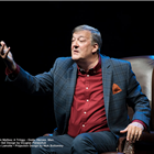 Stephen Fry. Photo by David Cooper. Creative by Key Gordon. Courtesy of the Shaw Festival.