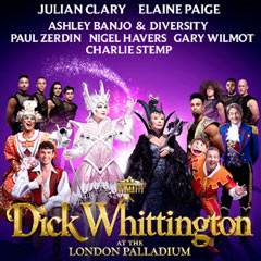 Book Dick Whittington at the London Palladium Tickets