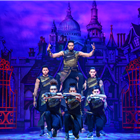 Ashley Banjo & Diversity as The Sultan and His Advisors. Credit: Paul Coltas.