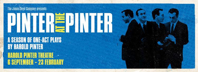 Pinter at the Pinter Tickets