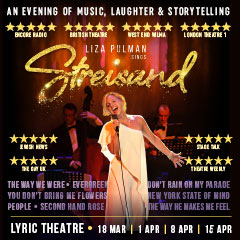 Book Liza Pulman Sings Streisand Tickets