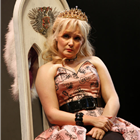Amy Morgan as Queen Marie in Exit the King. Photo Credit: Simon Annand
