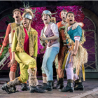 The Lost Boys in Peter Pan at the Regent's Park Open Air Theatre, London. Photo credit: Johan Persson
