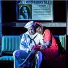 Samuel Edwards and Miriam-Teak Lee as Ozzie and Claire. Photo Johan Persson.