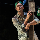 Edward Hogg as Orlando in As You Like It at the Regents Park Open Air Theatre. Credit: Jane Hobson