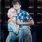 Jemima Rooper and Marc Antolin in Little Shop of Horrors at the Regent's Park Open Air Theatre (by Johan Persson)