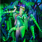 Vicky Vox in Little Shop of Horrors at the Regent's Park Open Air Theatre (by Johan Persson)