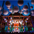 Emma Rice's A Misummer Night's Dream at Shakespeare's Globe. Photo by Steve Tanner.