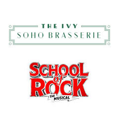 Book School Of Rock The Musical + 3 Course Pre-Theatre Dinner at The Ivy Soho Brasserie Tickets