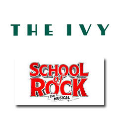 Book School Of Rock The Musical + 2 Course Post-Theatre Dinner at The Ivy Tickets