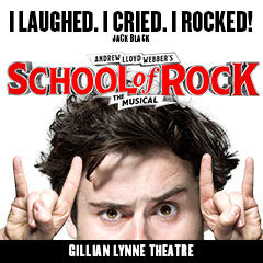 Book School Of Rock + 2 Course Dinner Tickets