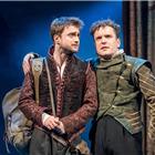 Daniel Radcliffe and Joshua McGuire as Rosencrantz & Guildenstern. Photo by Manuel Harlan