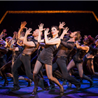 Josefina Gabrielle and the cast of Chicago at the Phoenix Theatre, London.