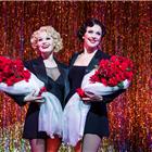Josefina Gabrielle and Sarah Soetaert in Chicago at the Phoenix Theatre, London.