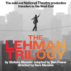 Book The Lehman Trilogy + 2 Course Post-Theatre Dinner at The Ivy Tickets
