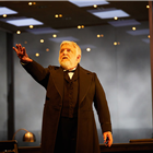 Simon Russell Beale in The Lehman Trilogy at the National Theatre. Photos of original cast. Photo Credit: Mark Douet.