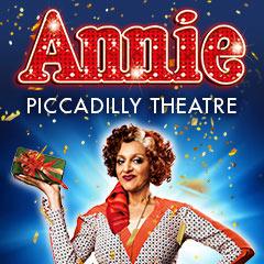 Book Annie + FREE 2 Course Dinner Tickets
