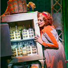 Meera Syal in Annie at the Piccadilly Theatre, London. Photo credit: Matt Crockett