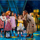 Meera Syal and the cast of Annie at the Piccadilly Theatre, London. Photo credit: Matt Crockett