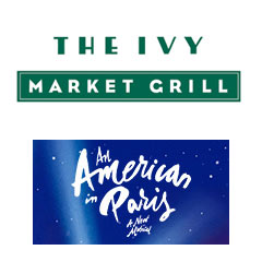 Book An American In Paris + FREE 2 Course Pre-Theatre Dinner at The Ivy Market Grill Tickets