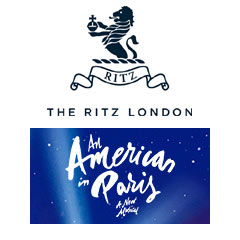 Book An American In Paris + 3 Course Dinner & Glass of Champagne at The Ritz Tickets