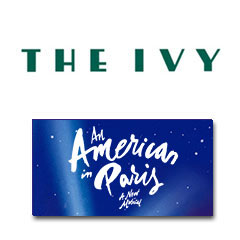 Book An American In Paris + 2 Course Post-Theatre Dinner at The Ivy Tickets