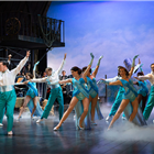 White Christmas at the Dominion Theatre - photo credit Catherine Ashmore