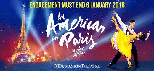 Book An American In Paris Tickets