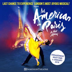 Book An American In Paris Tickets