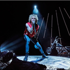 Andrew Polec as Strat in Bat Out Of Hell - The Musical. Credit: Specular.