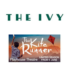 Book The Kite Runner + 2 Course Post-Theatre Dinner at The Ivy Tickets
