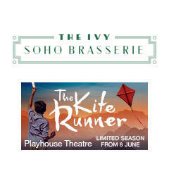 Book The Kite Runner + FREE 2 Course Pre-Theatre Dinner at The Ivy Soho Brasserie Tickets