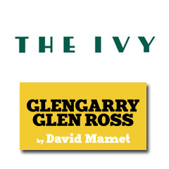 Book Glengarry Glen Ross + 2 Course Post-Theatre Dinner at The Ivy Tickets