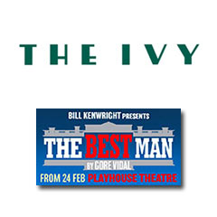Book The Best Man + 2 Course Post Theatre Meal at The Ivy Tickets