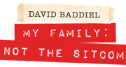 Book David Baddiel - My Family: Not The Sitcom Tickets