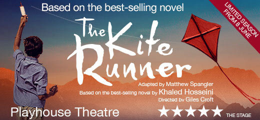 The Kite Runner has moved to the Playhouse Theatre