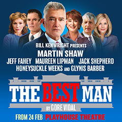 Book The Best Man + FREE 2 Course Dinner Tickets